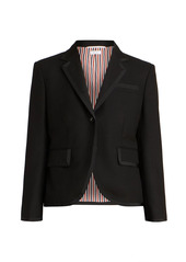 Thom Browne Classic Wool Single-Breaster Blazer Jacket
