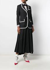 Thom Browne Super 120s plain weave jacket