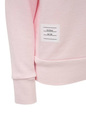 Thom Browne Cotton Jersey Crewneck Sweatshirt