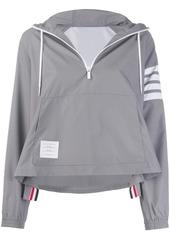 Thom Browne cropped hooded jacket