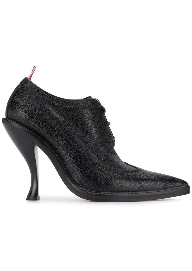 Thom Browne curved heel longwing brogues