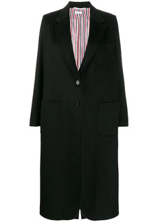 Thom Browne elongated sack overcoat