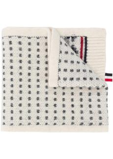 Thom Browne fair isle wool scarf