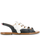 Thom Browne Ghillie two-tone sandals