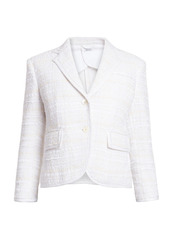 Thom Browne High-Armhole Tweed Blazer