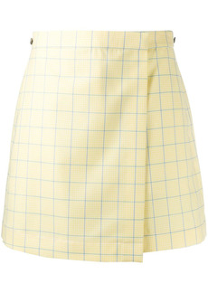 Thom Browne high-waisted check-print shorts