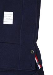 Thom Browne Intarsia Stripes Cotton Sweatshirt