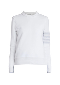 Thom Browne Knit Crewneck Stripe Sweater