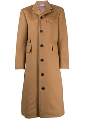 Thom Browne long Chesterfield overcoat