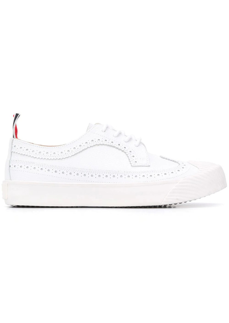 Thom Browne Longwing pebbled leather sneakers