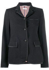 Thom Browne seersucker narrow shoulder jacket