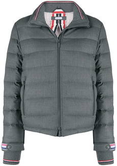 Thom Browne padded funnel neck jacket