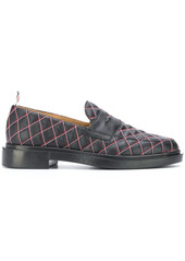 Thom Browne quilted loafers