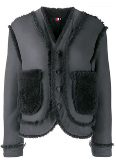 Thom Browne reversible shearling jacket