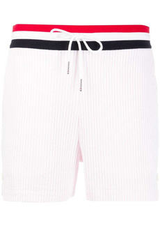 Thom Browne ribbed short shorts