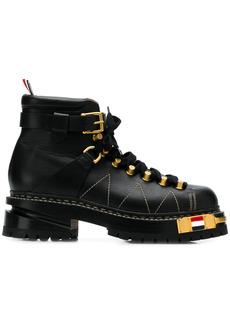 Thom Browne RWB-detail Vitello hiking boots