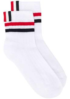 Thom Browne RWB-stripe ankle socks