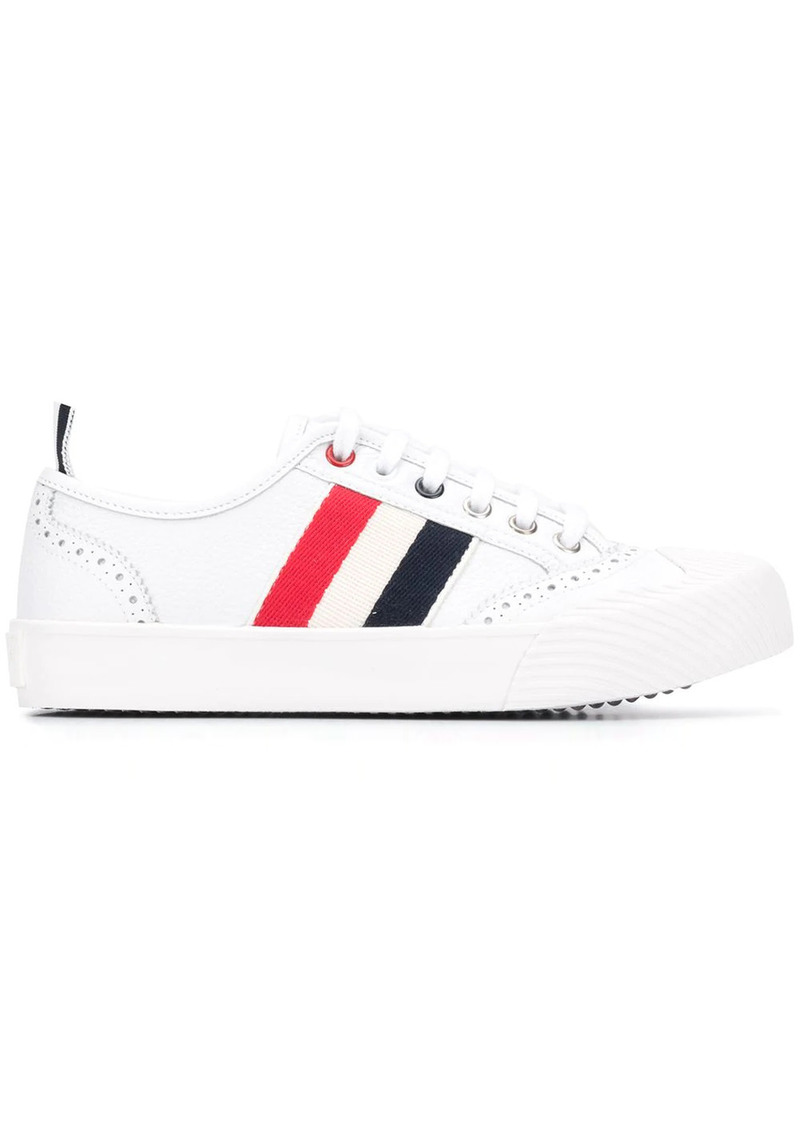 Thom Browne RWB stripe low-top sneakers