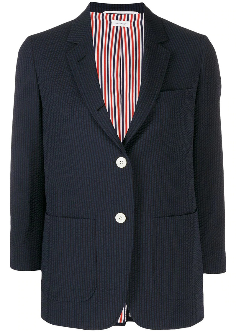 Thom Browne seersucker sack jacket