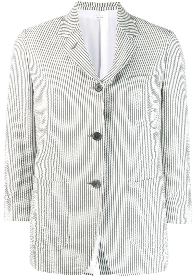 Thom Browne seersucker sack jacket