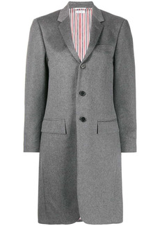 Thom Browne elongated waist cashmere coat