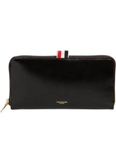 Thom Browne Smooth Leather Zip-around Wallet