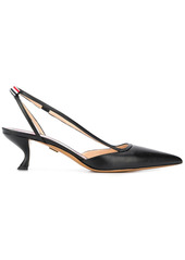 Thom Browne strappy pointed toe pumps
