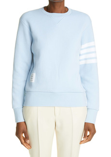 Thom Browne 4-Bar Cashmere & Cotton Blend Women's Sweater