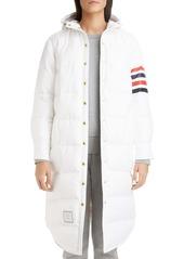 Thom Browne 4-Bar Ripstop Down Puffer Coat