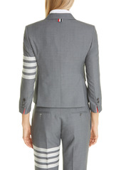 Thom Browne 4-Bar Wool-Blend Sport Coat