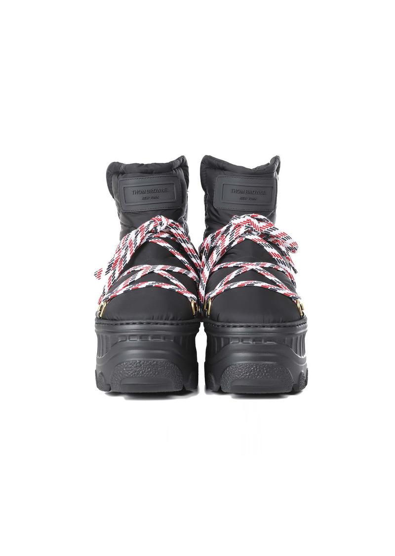 Thom Browne Black Apres-ski Boots