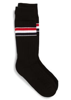Thom Browne Stripe Crew Socks