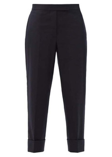 Thom Browne Tailored wool straight-leg trousers