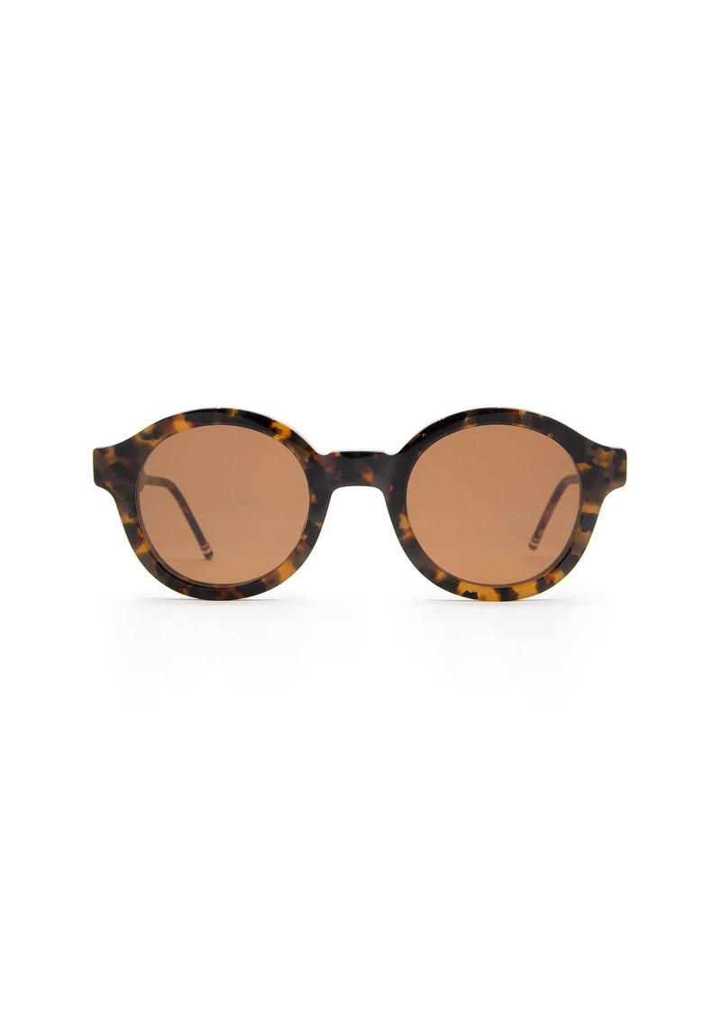 Thom Browne Thom Browne Tbs411 Tokyo Tortoise Sunglasses
