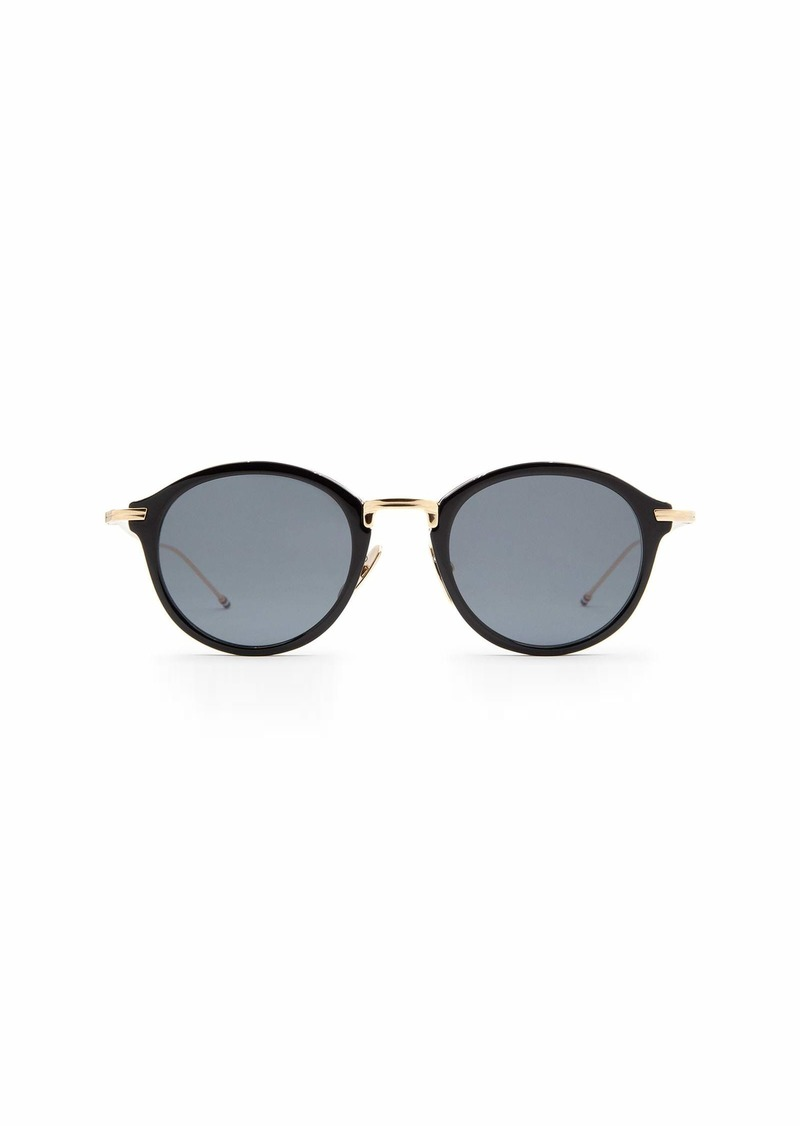 Thom Browne Thom Browne Tbs908 Blk-gld Sunglasses