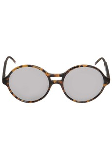 Thom Browne Tokyo Acetate T-shell Round Sunglasses