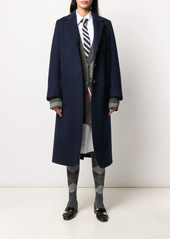 Thom Browne elongated cashmere sack overcoat