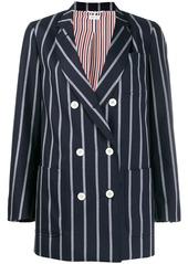 Thom Browne vertical-stripe sack jacket