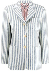 Thom Browne vertical-stripe tweed jacket
