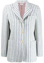 Thom Browne vertical-stripe tweed jacket