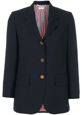 Thom Browne wide-lapel single-breasted blazer