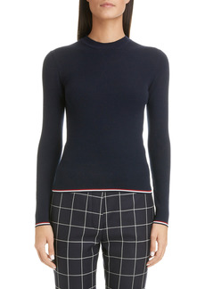 Women's Thom Browne Rib Wool Blend Sweater