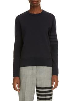 Women's Thom Browne Tonal 4 Bar Sweater