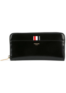 Thom Browne zip around purse