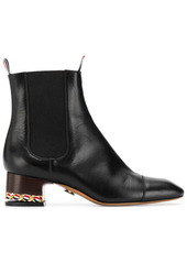 Thom Browne zipped ankle boots