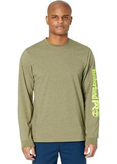 Timberland Base Plate Long Sleeve T-Shirt with Logo