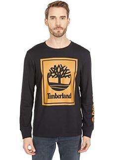 Timberland Long Sleeve Stack Logo Tee