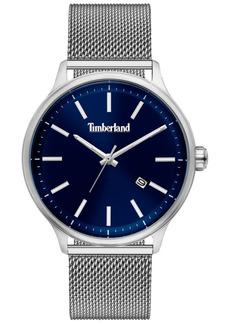 Timberland Men's Stainless Steel Mesh Bracelet Watch 45mm