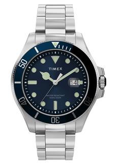 Timex® Harborside Coast Bracelet Watch, 43mm