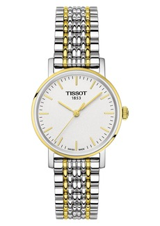 Tissot Everytime Bracelet Watch, 30mm